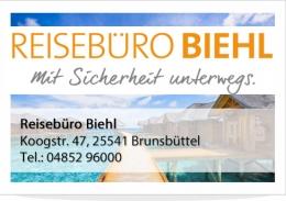 Reisebüro Biehl Brunsbüttel