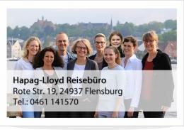 Hapag-Lloyd Reisebüro Flensburg