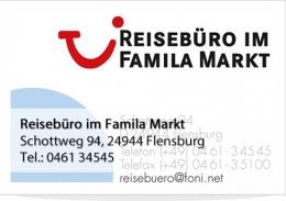 Reisebüro im Familamarkt